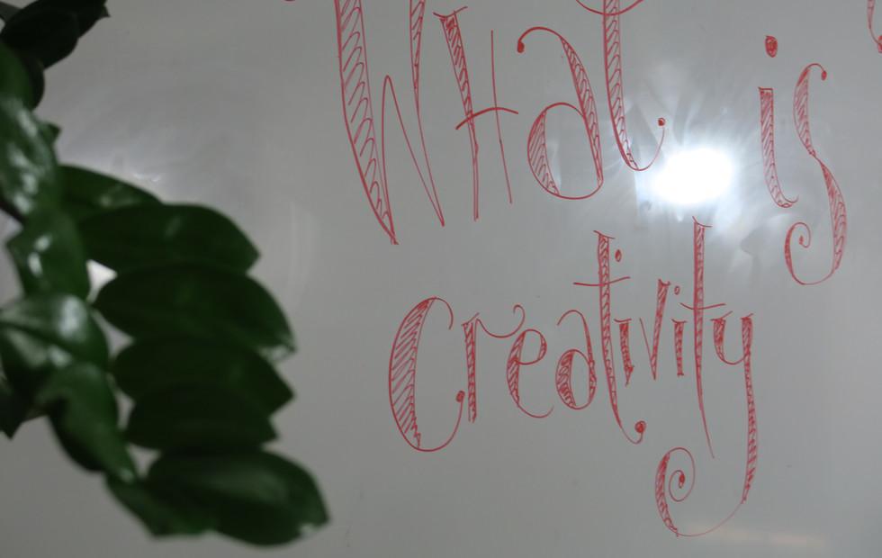 Creativity + Creative Thinking workshops