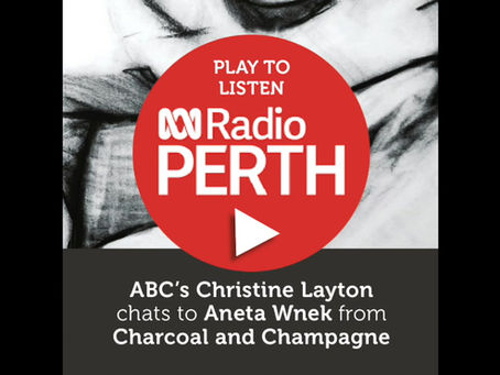 LISTEN > ABC Radio's Christina Layton chats to Aneta Wnek from Charcoal and Champagne