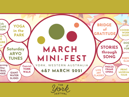Join us in beautiful YORK this weekend!