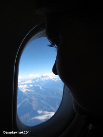 Spectacular send over the Himalayas