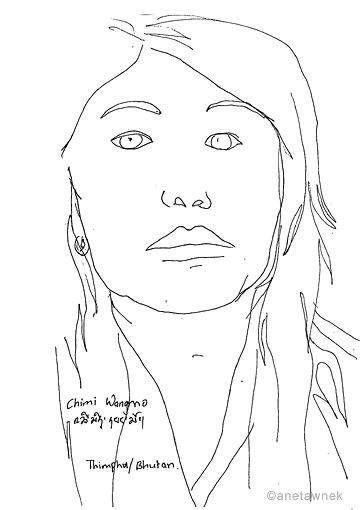 Chimi Wangmo - hairdresser