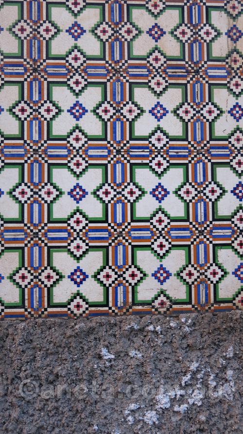 ... more tiles