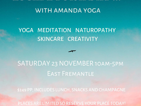 Join us and escape for a day of self-care at a stunning urban retreat