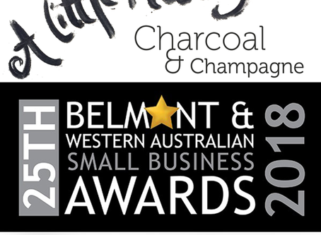 Finalist in the Belmont & WA Small Business Awards!