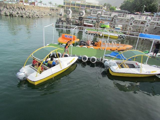 tiberias pleasure boats