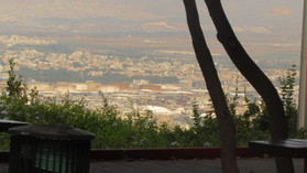 Haifa city Panorama 30th Jul 17