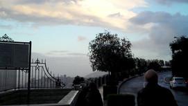 Haifa stormy panorama