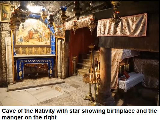 Birthplace and manger