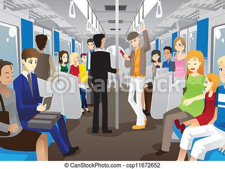 Encounter in the train