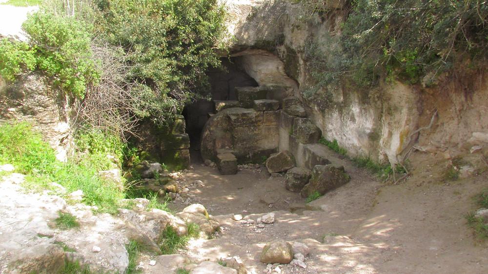 Jewish Burial Cave Adulam