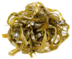 Seaweed as a healthy food.