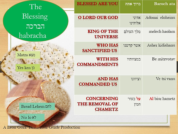 Blessing for search leaven