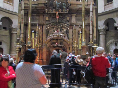 The Holy Sepulchre - A Jewish View