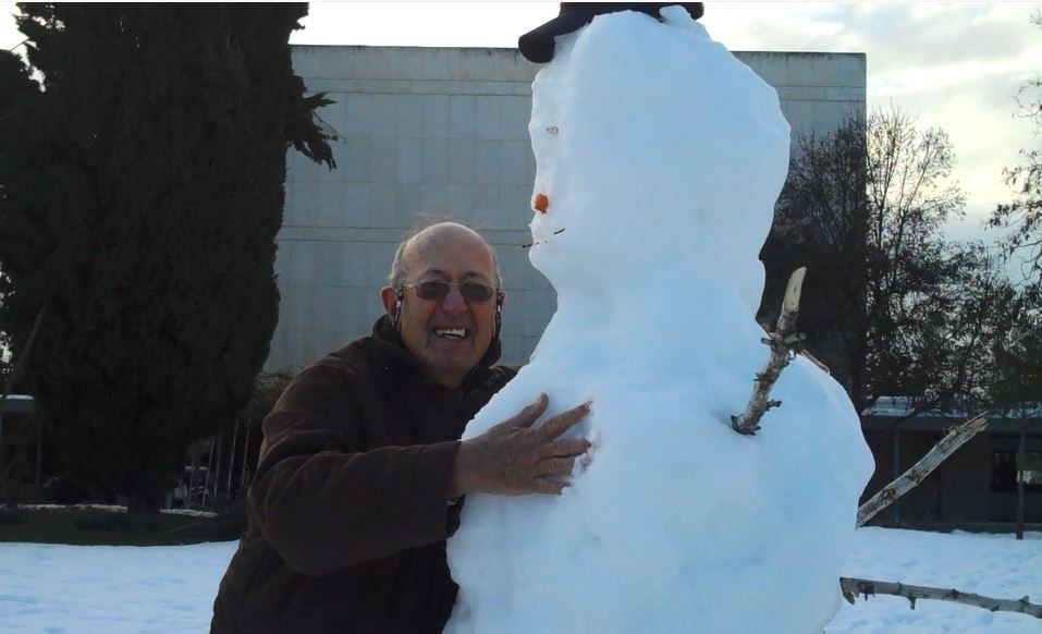 snowman national library Jerusalem