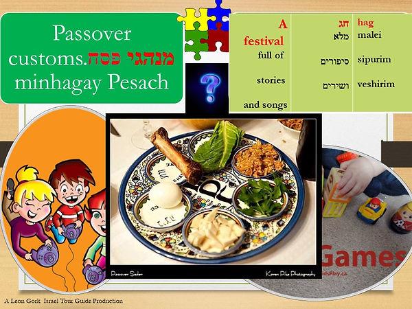 Passover customs