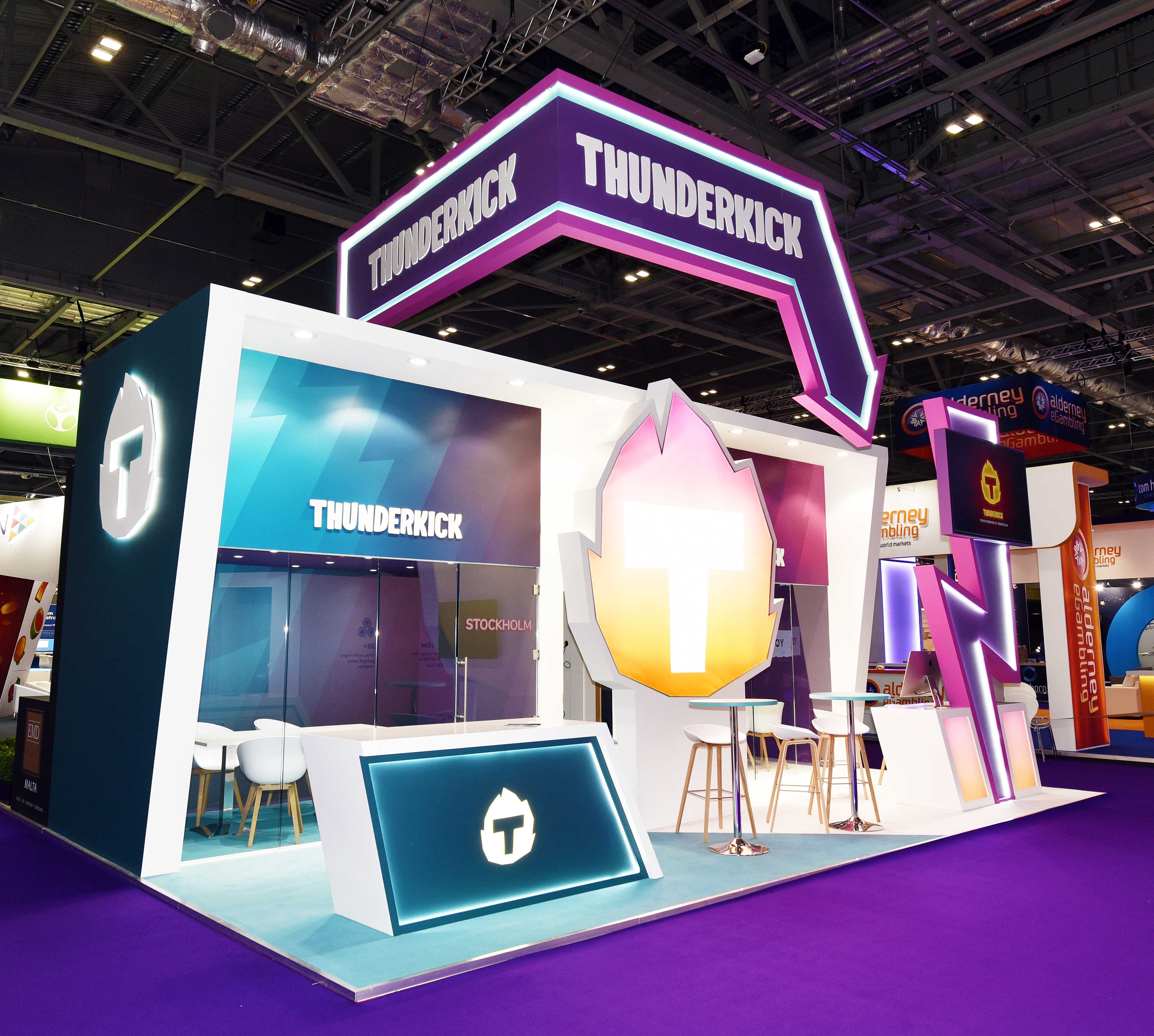 Exhibition stand designer and builder