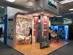 3 exhibition stand designs  Klarna