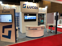 Lucas 2018 exhibition stand designer