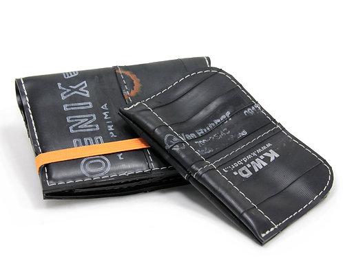 EC-Schlauch, Brieftasche mit herausnehmbarem Kleingeldfach, orange