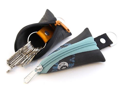 Schlüsseletui Schlüssel-Maus, offen und geschlossen
