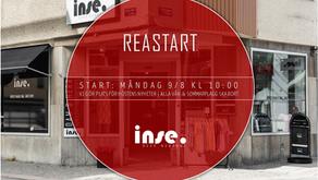 REASTART 9/8 KL 10:00