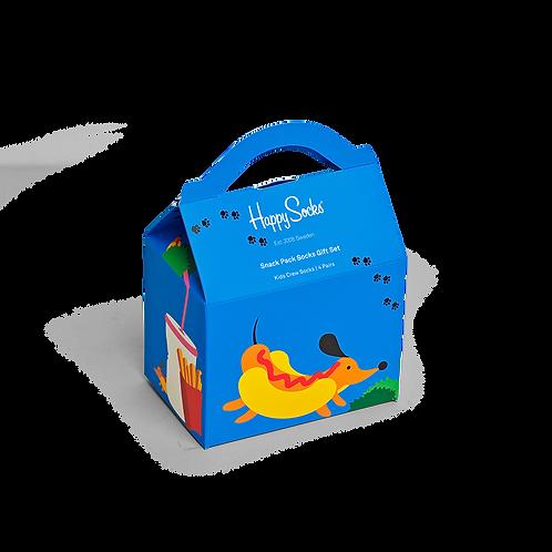 Kids Snack Pack Socks Gift Box 4-Pack