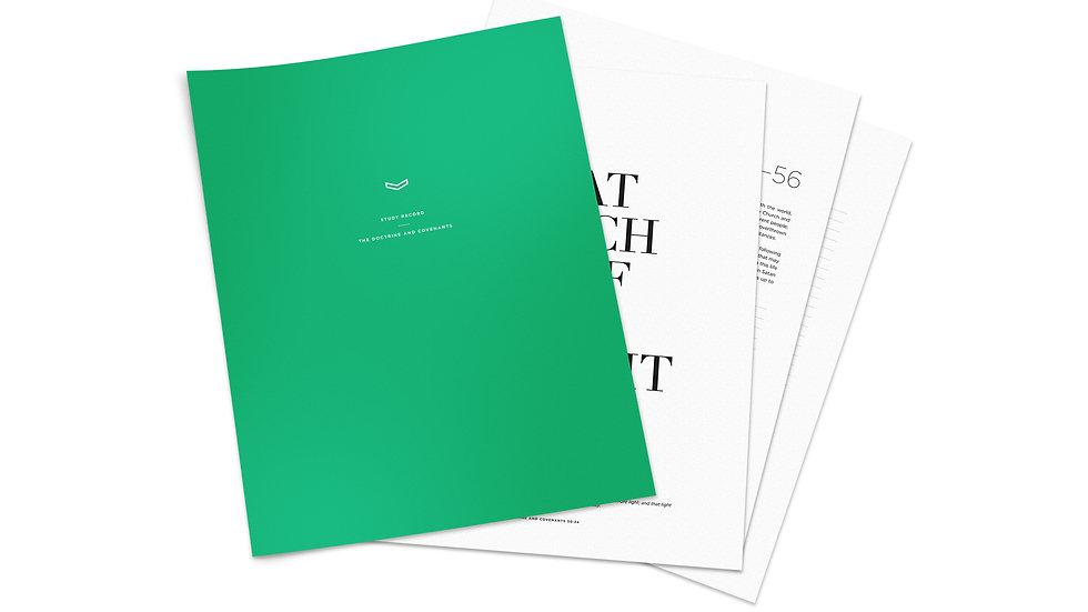 Study Record — Digital Version