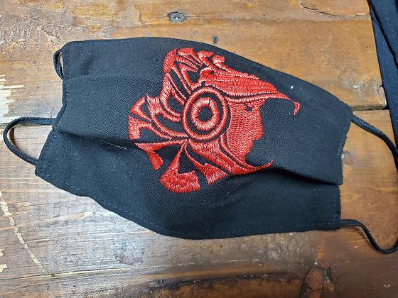 Aztec Warrior Face Mask