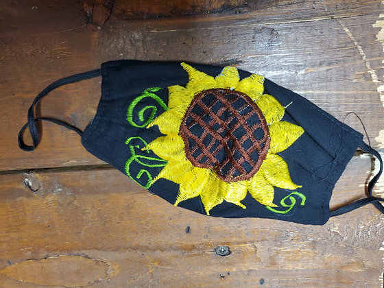 Sunflower Face Mask (cotton) Manta