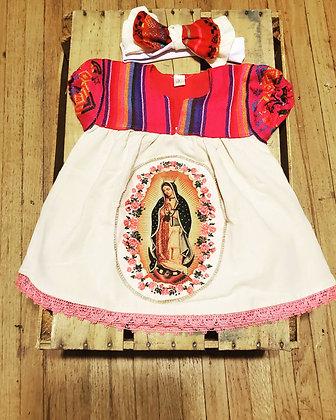 Baby dress/Virgin Guadalupe