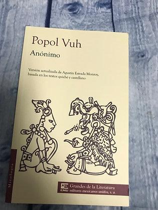 Popol Vuh Book in spanish