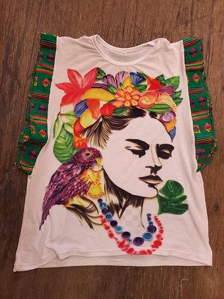 Frida Kahlo&Cambaya Shirts