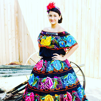 Chiapas traditional dress by order