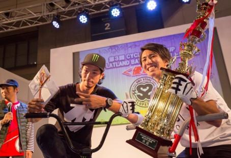 BMXフラットランド東西頂上決定戦inサイクルモードCUP 優勝