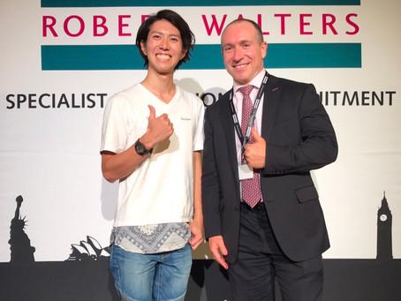 【スポンサー】グローバル人材紹介会社『ROBERT WALTERS』とスポンサーシップを締結