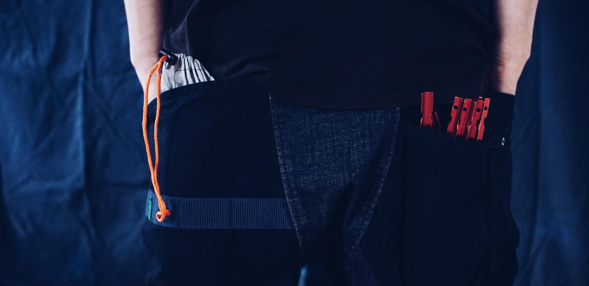 ポケットの容量は全モデルの中でも最大量を誇ります。