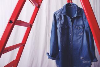 Repair denim western shirts