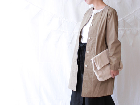 COTTON SPRING COAT
