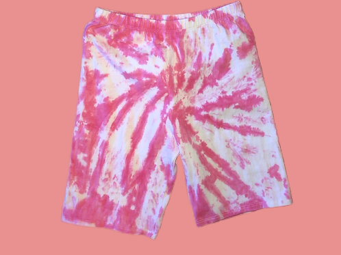 Hot Cotton Candy Biker Shorts
