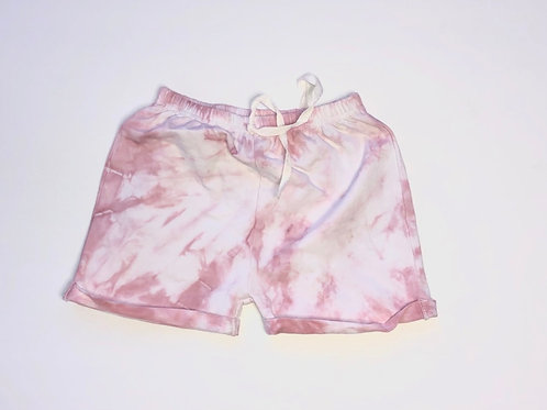 Cotton Candy Mini Shorts