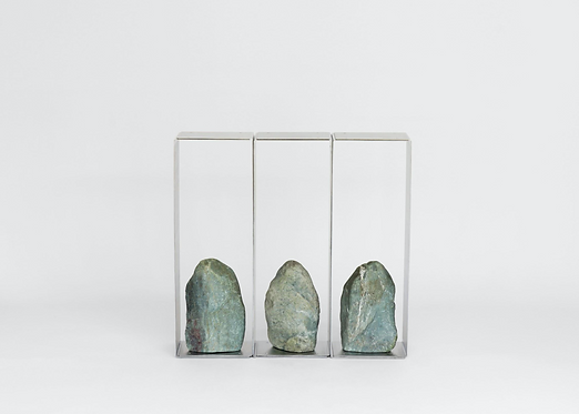 Steel and Stone Console 02