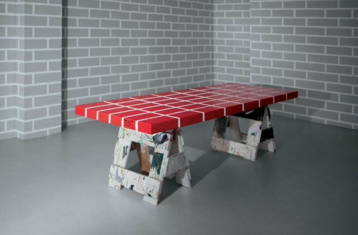 Red Brick table No.4