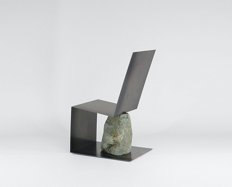 Steel and Stone Chair 3