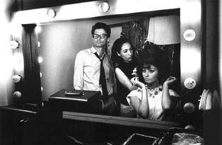 Richard Avedon and Sophia Loren in the dressing room, 1966