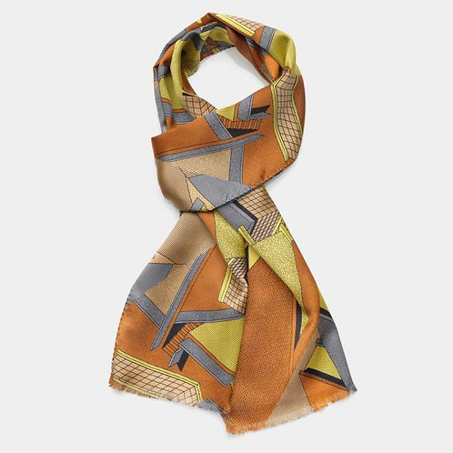 Scarf (yellow-brown)