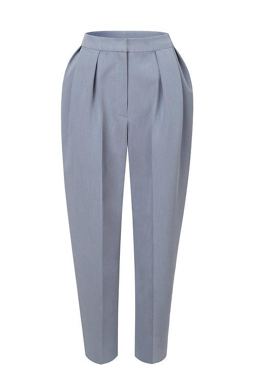 Kalhoty se sklady v pase