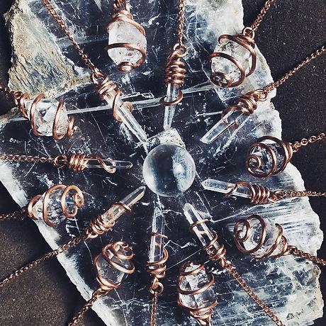 Herkimer and Tibetan pendulums pic.jpg