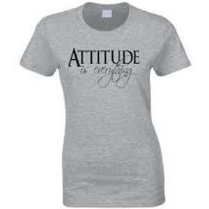 Attitude is Everything Fitted Tee