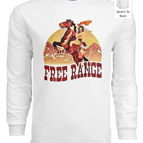 Free Range Cowgirl Graphic Long Sleeve