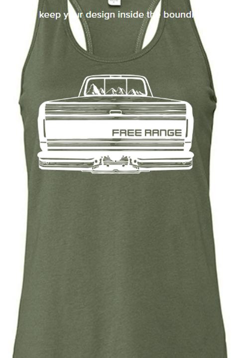 Free Range Ford Logo Tank